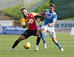Partick Thistle v St Johnstone&hellip;10.09.16..  Firhill  SPFL<br />Chris Millar and Sean Welsh<br />Picture by Graeme Hart.<br />Copyright Perthshire Picture Agency<br />Tel: 01738 623350  Mobile: 07990 594431