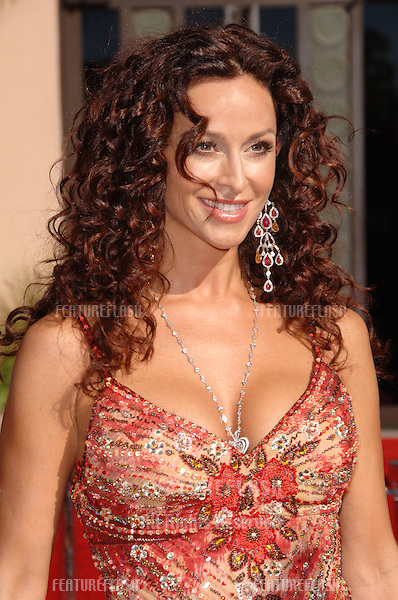 """CSI: Miami"" star SOFIA MILOS at the 2006 Primetime Emmy Awards at the Shrine Auditorium, Los Angeles..8 27, 2006 Los Angeles, CA.© 2006 Paul Smith / Featureflash"