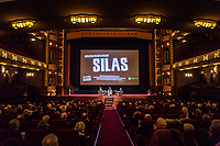 Amsterdam, 22 -11-2017, IDFA International Documentary Filmfestival Amsterdam.  Chris Kijne en Barbara Oosters in gesprek met Director van 'Silas' Anjali Nayar (midden). Photo Nichon Glerum