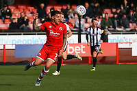 Reece Grego-Cox of Crawley Town during Crawley Town vs Grimsby Town, Sky Bet EFL League 2 Football at Broadfield Stadium on 9th March 2019