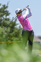 Ayako Uebara (JPN) watches her tee shot on 3 during round 2 of  the Volunteers of America LPGA Texas Classic, at the Old American Golf Club in The Colony, Texas, USA. 5/6/2018.<br /> Picture: Golffile | Ken Murray<br /> <br /> <br /> All photo usage must carry mandatory copyright credit (&copy; Golffile | Ken Murray)