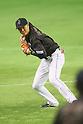Hayato Sakamoto (JPN), <br /> NOVEMBER 14, 2014 - Baseball : <br /> 2014 All Star Series Game 2 <br /> between Japan and MLB All Stars <br /> at Tokyo Dome in Tokyo, Japan. <br /> (Photo by YUTAKA/AFLO SPORT)[1040]