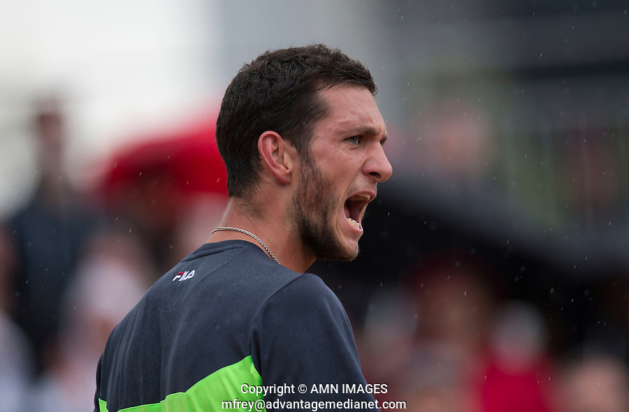 JAMES WARD (GBR)<br /> <br /> Tennis - French Open 2014 -  Toland Garros - Paris -  ATP-WTA - ITF - 2014  - France -  26 May 2014. <br /> <br /> &copy; AMN IMAGES