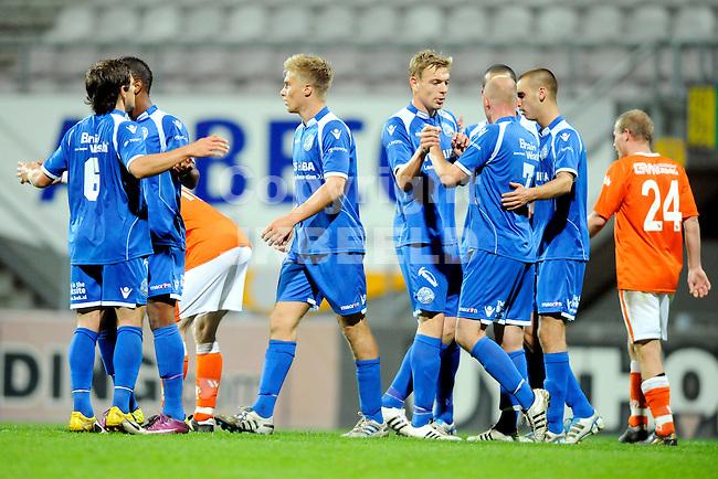 EMMEN - WKE - FC Den Bosch, KNVB Beker, seizoen 2011-2012, 20-09-2011 Den Bosch viert de 0-1.