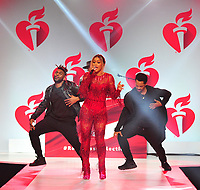 NEW YORK, NY - February 7 : Eve attends The American Heart Association's Go Red For Women Red Dress Collection 2019 Presented By Macy's at Hammerstein Ballroom on February 7, 2019 in New York City.<br /> CAP/MPI/JP<br /> &copy;JP/MPI/Capital Pictures