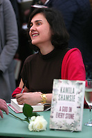 Saturday 24 May 2014, Hay on Wye UK<br /> Pictured: Kamila Shamsie<br /> Re: The Telegraph Hay Festival, Hay on Wye, Powys, Wales UK.