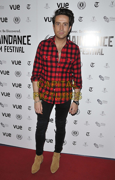 LONDON, ENGLAND - OCTOBER 02: Nick Grimshaw attends the &quot;Flim: The Movie&quot; UK film premiere, Raindance film festival, Vue Piccadilly cinema, Lower Regent St., on Thursday October 02, 2014 in London, England, UK. <br /> CAP/CAN<br /> &copy;Can Nguyen/Capital Pictures