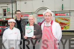 Greaney's Spar Listowel : Audrey Heaphy, Ger Greaney, Becky Chute & Mike Buckley.