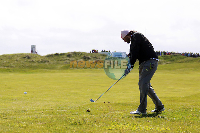 Johan Edfors in the final round of the Irish Open on 17th of May 2009 at Baltray, Co. Louth, Ireland. (Photo by Manus O'Reilly/GOLFFILE)