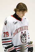Cody Ferriero (Northeastern - 79) - The visiting Rensselaer Polytechnic Institute Engineers tied their host, the Northeastern University Huskies, 2-2 (OT) on Friday, October 15, 2010, at Matthews Arena in Boston, MA.