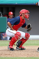 October 5, 2009:  Catcher Dan Killian of the Washington Nationals organization during an Instructional League game at Space Coast Stadium in Viera, FL.  Killian was selected in the 7th round of the 2008 MLB Draft.  Photo by:  Mike Janes/Four Seam Images