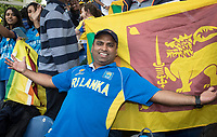 The Sri Lankan fans really enjoyed their day at Sophia Gardens during Afghanistan vs Sri Lanka, ICC World Cup Cricket at Sophia Gardens Cardiff on 4th June 2019