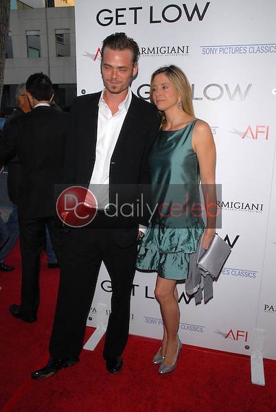 Christopher Backus and Mira Sorvino<br />
