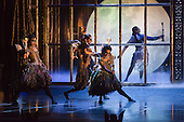 "World premiere of Matthew Bourne's ""Sleeping Beauty"" at Sadler's Wells. Running from 4 December 2012 to 26 January 2013. Dancers of this section: Christopher Marney, Mari Kamata, Kate Lyons, Joe Walkling, Sophia Hurdley and Liam Mower. Photo credit: Bettina Strenske"