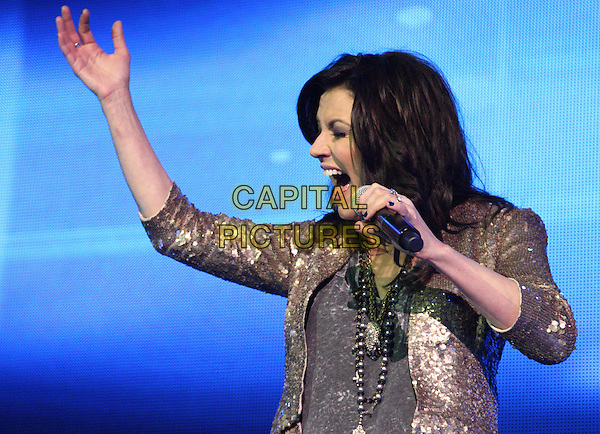 LONDON, ENGLAND - MARCH 14: Martina McBride at C2C, Country to Country - Day One -  at the O2 Arena, London on March 15, 2014 in London, England.<br /> CAP/ROS<br /> &copy;Steve Ross/Capital Pictures