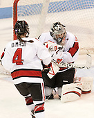 Chloe Desjardins (NU - 29) - The Northeastern University Huskies defeated Boston College Eagles 4-3 to repeat as Beanpot champions on Tuesday, February 12, 2013, at Matthews Arena in Boston, Massachusetts.
