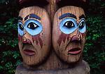 Kadjuk Bird Pole, slaves of raven, Totem Bight SHP