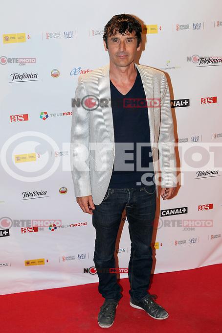 Carlos Chamarro - Premiere En Fuera De Juego - photocall in Madrid