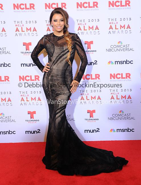 Eva Longoria attends The 2013 NCLR ALMA Awards held at the Pasadena Civic Auditorium in Pasadena, California on September 27,2012                                                                               © 2013 DVS / Hollywood Press Agency