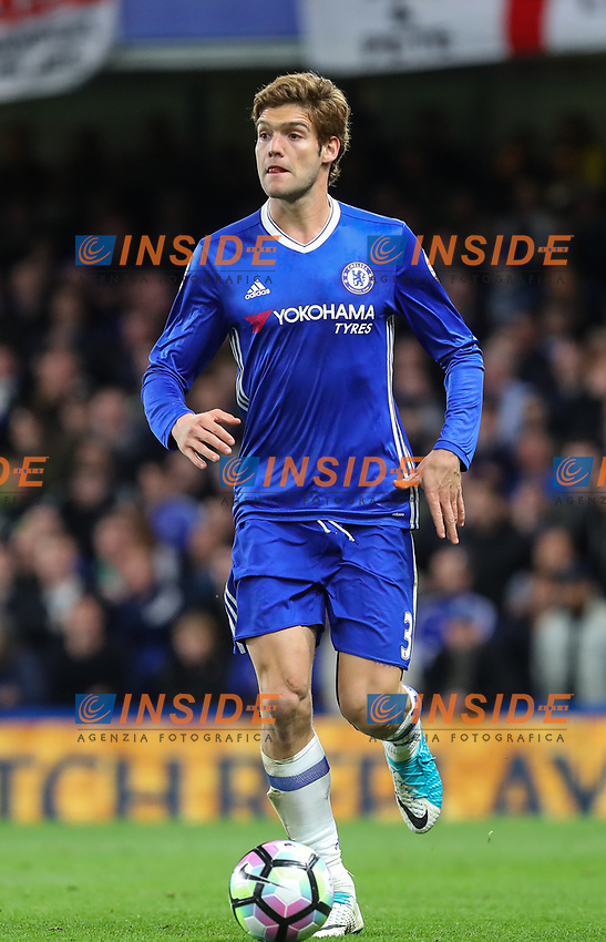 Marcos Alonso of Chelsea during the Premier League match between Chelsea and Manchester City at Stamford Bridge on April 5th 2017 in London, England.<br /> Foto PHC Images / Panoramic / Insidefoto <br /> ITALY ONLY