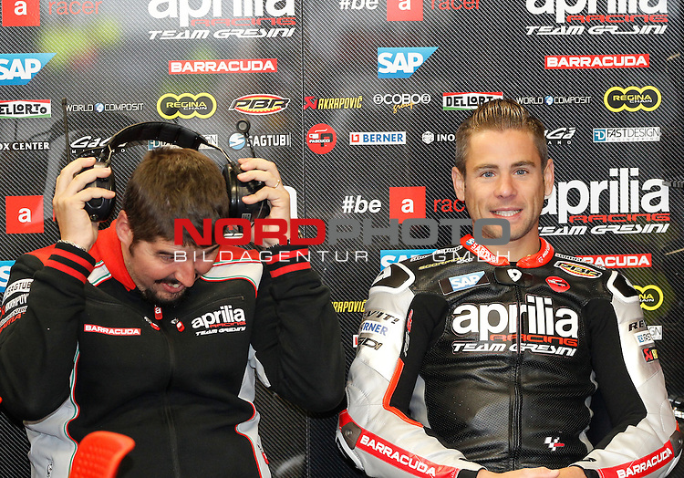 Monster Energy Grand Prix de France in Le Mans 15.-17.05.2015, Free Practice, Qualifying, Box.<br /> <br /> 19 Alvaro Bautista / Spanien<br /> <br /> Foto &copy; nordphoto / FSA