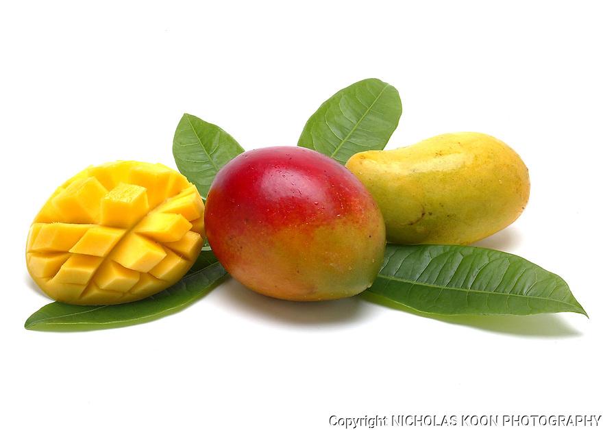 Mango still life.