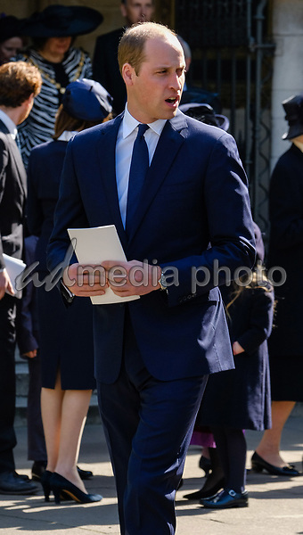 07 April 2017 - London, England - Lord Snowdon Service of Thanksgiving, Westminster Abbey. Photo Credit: Alpha Press/AdMedia