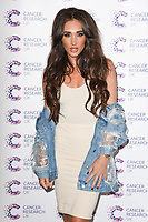 Megan McKenna<br /> arriving at James Ingham&rsquo;s Jog On To Cancer, in aid of Cancer Research UK at The Roof Gardens in Kensington, London. <br /> <br /> <br /> &copy;Ash Knotek  D3248  12/04/2017