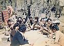 Iraq 1982 A toujala, un repas avec Pakchan Hafid