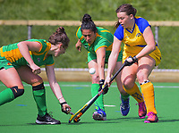 Action from the women's National Hockey League match between Central Mysticks and Southern at National Hockey Stadium in Wellington, New Zealand on Sunday, 16 September 2018. Photo: Dave Lintott / lintottphoto.co.nz