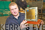 Apprentice fitter Colman Horgan made it.four-in-a-row for Torc Precision Engineering in.Killarney when he showed his mettle at the.the National Skills Engineering Competition.last week.