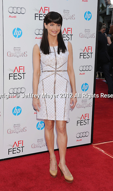 HOLLYWOOD, CA - NOVEMBER 04: Alex Lombard arrives at the premiere of 'Rise of the Guardians' during the 2012 AFI Fest presented by Audi at Grauman's Chinese Theatre on November 4, 2012 in Hollywood, California.