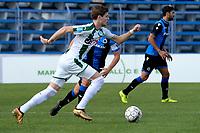 MARBELLA  - Voetbal, Club Brugge - FC Groningen, Trainingskamp , seizoen 2017-2018, 10-01-2018,  FC Groningen speler Django Warmerdam