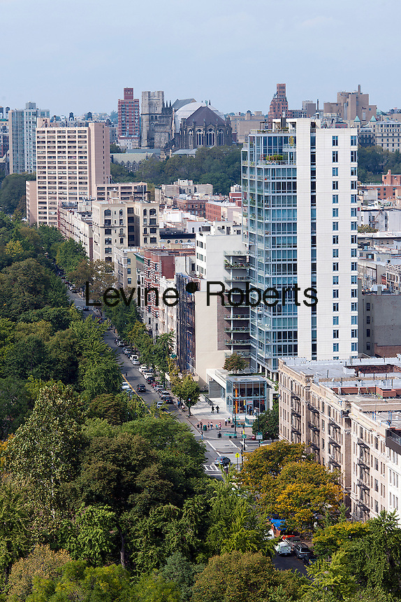 The northern end of Central Park where it meets Harlem is seen from an apartment on Fifth Avenueon Saturday, October 6, 2012 . (© Richard B. Levine)
