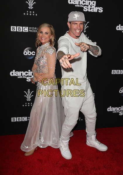 Los Angeles, CA - NOVEMBER 22: Maureen McCormick, Vanilla Ice, At ABC's &quot;Dancing With The Stars&quot; Season 23 Finale At The Grove, California on November 22, 2016. <br /> CAP/MPI/FS<br /> &copy;FS/MPI/Capital Pictures
