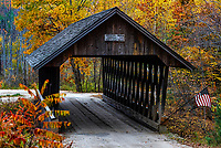Keniston Covered Bridge, Andover, New Hampshire, USA.
