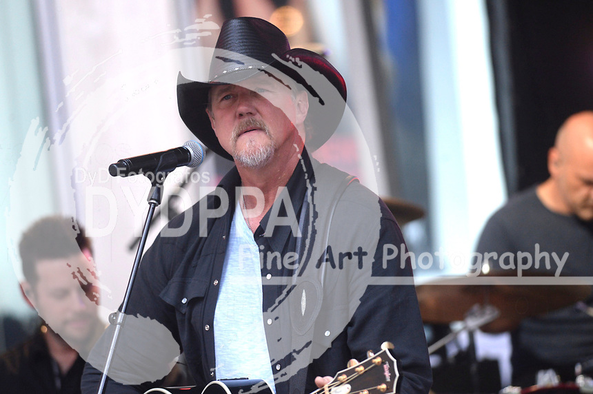 Trace Adkins live bei der 'FOX & Friends All American Concert Series' vor den FOX Studios. New York, 04.08.2017