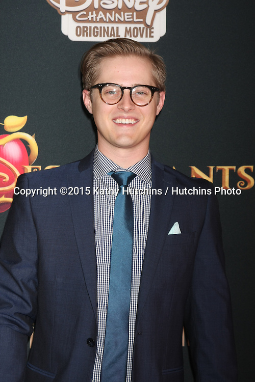 "LOS ANGELES - JUL 24:  Lucas Grabeel at the ""Descendants"" Premiere Screening at the Walt Disney Studios on July 24, 2015 in Burbank, CA"