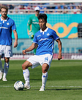 Seungho Paik (SV Darmstadt 98) - 15.09.2019: SV Darmstadt 98 vs. 1. FC Nürnberg, Stadion am Boellenfalltor, 6. Spieltag 2. Bundesliga<br /> DISCLAIMER: <br /> DFL regulations prohibit any use of photographs as image sequences and/or quasi-video.