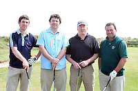 Michael Walsh, Hugh Maher, Aidan Quinn and Peter McElearny at the Abacas Golf Classic in Seapoint Golf Club, Termonfeckin...Photo NEWSFILE/Jenny Matthews.(Photo credit should read Jenny Matthews/NEWSFILE)....This Picture has been sent you under the condtions enclosed by:.Newsfile Ltd..The Studio,.Millmount Abbey,.Drogheda,.Co Meath..Ireland..Tel: +353(0)41-9871240.Fax: +353(0)41-9871260.GSM: +353(0)86-2500958.email: pictures@newsfile.ie.www.newsfile.ie.FTP: 193.120.102.198.