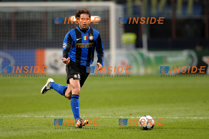 Douglas Maxwell (Inter) <br /> Milano 26/11/2008 Stadio &quot;Giuseppe Meazza&quot; <br /> Champions League 2008/2009<br /> Inter Panathinaikos (0-1)<br /> Foto Insidefoto