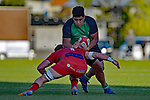 NELSON, NEW ZEALAND July 6: Division 1 Rugby -  Marist v Stoke at Trafalgar Park in Nelson on July 6 2019, Nelson, New Zealand (Photos by Barry Whitnall/Shuttersport Limited)