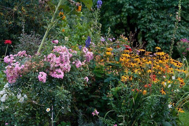 Garten, garden, Blumen, flowers, Mauren, Liechtenstein.