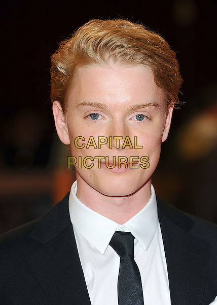 Freddie Fox .'The Three Musketeers in 3D' world film premiere, Vue cinema, Westfield, London, England. 4th October 2011.headshot portrait black white .CAP/BEL.©Tom Belcher/Capital Pictures.