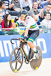 Sam Welsford of Australia competes on Men's Omnium Elimination during the 2017 UCI Track Cycling World Championships on 15 April 2017, in Hong Kong Velodrome, Hong Kong, China. Photo by Marcio Rodrigo Machado / Power Sport Images