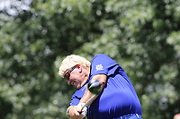 John Daly (USA) tees off the 15th tee during Thursday's Round 1 of the 2017 PGA Championship held at Quail Hollow Golf Club, Charlotte, North Carolina, USA. 10th August 2017.<br /> Picture: Eoin Clarke | Golffile<br /> <br /> <br /> All photos usage must carry mandatory copyright credit (&copy; Golffile | Eoin Clarke)