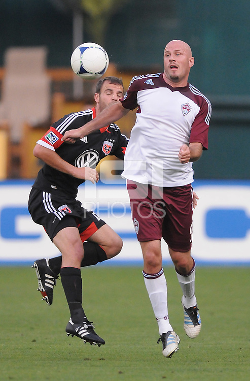 Colorado Rapids forward Conor Casey (9)  D.C. United defeated the Colorado Rapids 2-0 at RFK Stadium, Wednesday May 16, 2012.