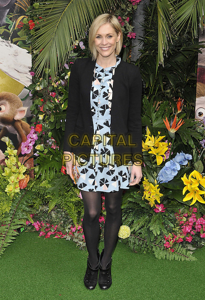 LONDON, ENGLAND - MARCH 30: Jenni Falconer attends the &quot;Rio 2&quot; VIP film screening, Vue West End cinema, Leicester Square, on Sunday March 30, 2014 in London, England, UK.<br /> CAP/CAN<br /> &copy;Can Nguyen/Capital Pictures