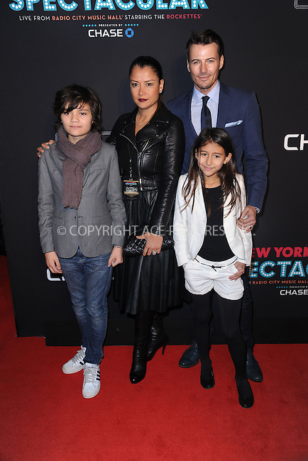 WWW.ACEPIXS.COM<br /> March 26, 2015 New York City<br /> <br /> Alex Lundqvist with Family attending the 2015 New York Spring Spectacular at Radio City Music Hall on March 26, 2015 in New York City.<br /> <br /> Please byline: Kristin Callahan/AcePictures<br /> <br /> ACEPIXS.COM<br /> <br /> Tel: (646) 769 0430<br /> e-mail: info@acepixs.com<br /> web: http://www.acepixs.com