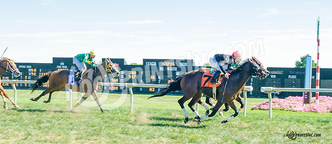 Agnostic winning at Delaware Park on 9/23/15